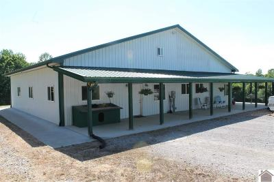 Lyon County, Trigg County Single Family Home For Sale: 2367 State Route 93 N