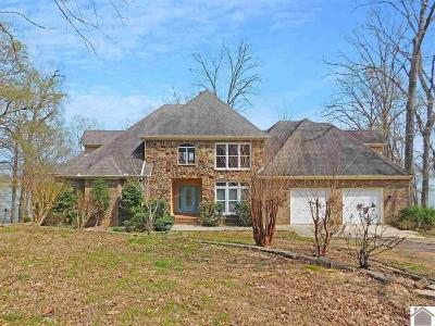 Murray, New Concord, Grand Rivers, Benton, Gilbertsville Single Family Home Contract Recd - See Rmrks: 100 Bayshore Dr