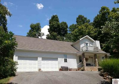 Kuttawa KY Single Family Home Contract Recd - See Rmrks: $208,900