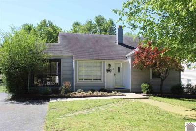 Murray Single Family Home For Sale: 1103 Poplar Street