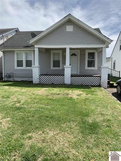 Paducah Single Family Home Contract Recd - See Rmrks: 2102 Clay Street