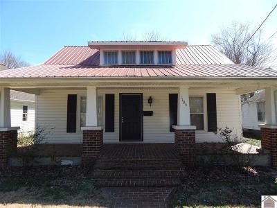 Murray Single Family Home For Sale: 1105 Olive Street