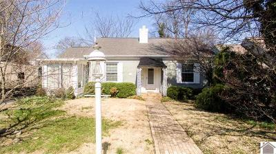 Paducah Single Family Home Contract Recd - See Rmrks: 3521 Forest Circle