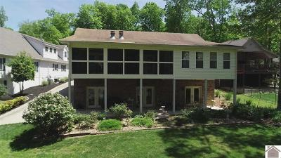 Calloway County, Marshall County Single Family Home For Sale: 165 Lakeshore Drive