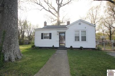 Paducah Single Family Home Contract Recd - See Rmrks: 829 N 24th Street
