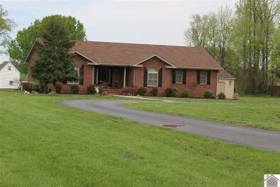 Benton Single Family Home For Sale: 4754 Brewers Hwy