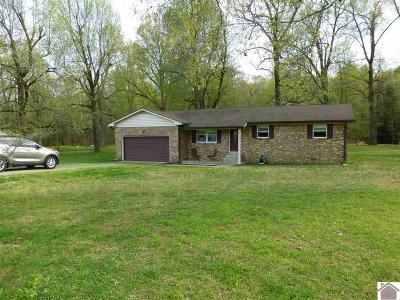 Paducah Single Family Home For Sale: 2150 Clarkline Road
