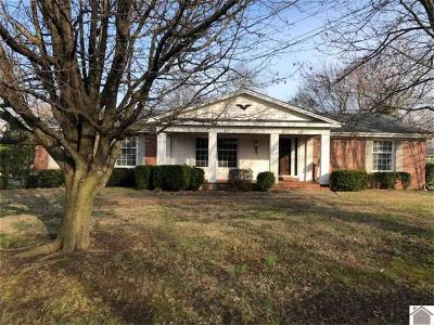 Calloway County, Marshall County Single Family Home Contract Recd - See Rmrks: 808 N 20th Street