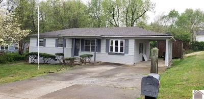 Paducah Single Family Home Contract Recd - See Rmrks: 1309 Ramona Dr