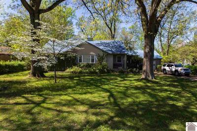 Paducah Single Family Home For Sale: 3615 Pines Road