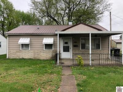 Paducah Single Family Home Contract Recd - See Rmrks: 2830 Alabama Street