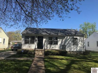 Paducah Single Family Home For Sale: 2409 Madison
