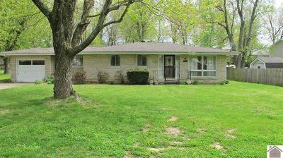 Eddyville KY Single Family Home For Sale: $129,000