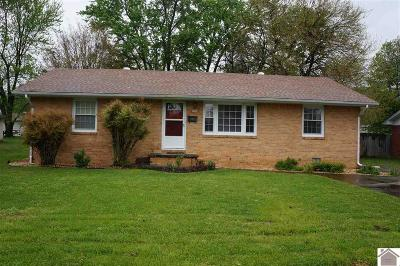 Calloway County, Marshall County Single Family Home Contract Recd - See Rmrks: 1666 Calloway Avenue