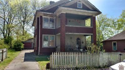 Princeton Single Family Home For Sale: 206 N Plum