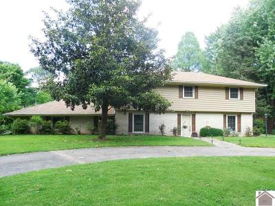 McCracken County Single Family Home For Sale: 592 Woodland Drive