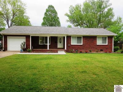 Murray Single Family Home For Sale: 811 Guthrie Dr.