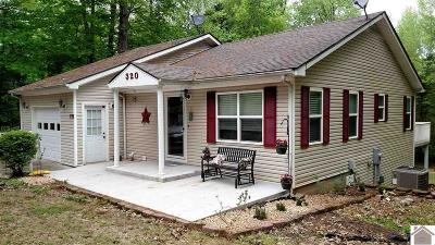 Cadiz Single Family Home For Sale: 320 Rockcastle Lakeshore Dr