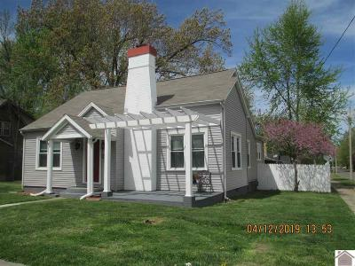 Mayfield Single Family Home Contract Recd - See Rmrks: 421 Backusburg Rd
