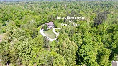 McCracken County Single Family Home For Sale: 455 Lovelaceville-Florence Station Road East