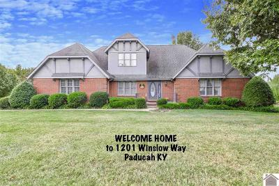 Paducah Single Family Home For Sale: 1201 Winslow Way