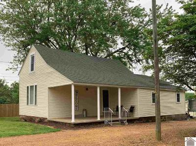Mayfield Single Family Home For Sale: 1258 Oak Grove Church Rd