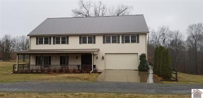 Marshall County Single Family Home For Sale: 519 Cedar Knob Road