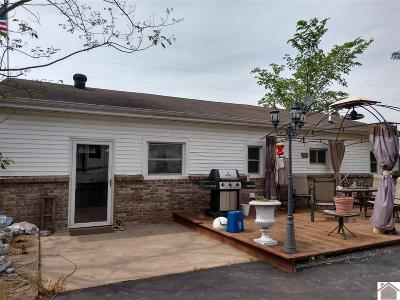 Murray Single Family Home For Sale: 1346 Almo Shiloh Road