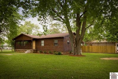 Paducah Single Family Home For Sale: 7434 Old Benton Road