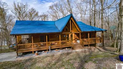 Caldwell County, Calloway County, Livingston County, Marshall County, Trigg County Single Family Home For Sale: 22 Roberts Lane