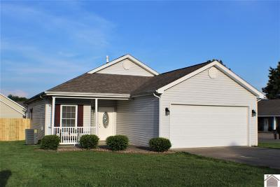 McCracken County Single Family Home For Sale: 120 Keeneland Court