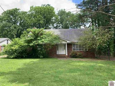 Calloway County Single Family Home For Sale: 1316 Main Street