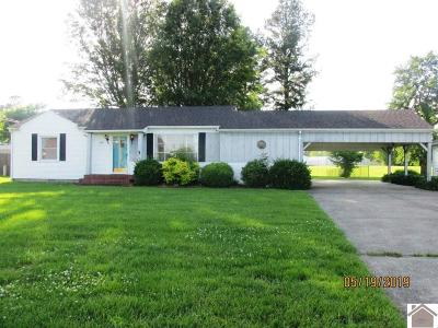 Paducah Single Family Home For Sale: 3545 Clinton Road