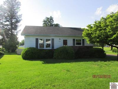 Paducah Single Family Home For Sale: 3529 Clinton Road