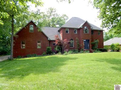 Calloway County, Marshall County Single Family Home For Sale: 1308 Fleetwood