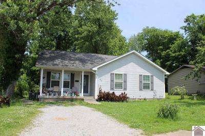 Princeton KY Single Family Home For Sale: $92,500