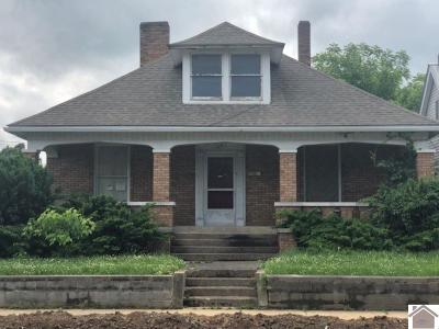 McCracken County Single Family Home For Sale: 1815 Bridge Street
