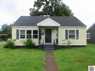 Paducah Single Family Home Contract Recd - See Rmrks: 2227 Madison Street