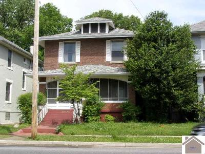 McCracken County Single Family Home Contract Recd - See Rmrks: 1507 Jefferson St