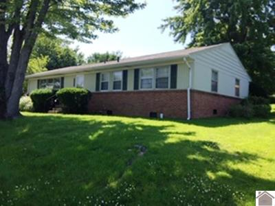 Paducah Single Family Home For Sale: 3718 Springdale Circle