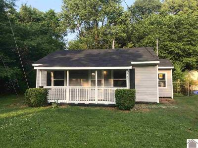 Paducah Single Family Home Contract Recd - See Rmrks: 3158 Shelbourne Street