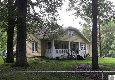 Graves County Single Family Home Contract Recd - See Rmrks: 3085 State Route 1684