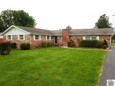 Paducah Single Family Home For Sale: 101 Cambridge