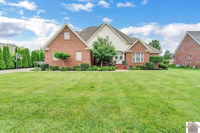 Paducah Single Family Home Contract Recd - See Rmrks: 6442 Gardenview