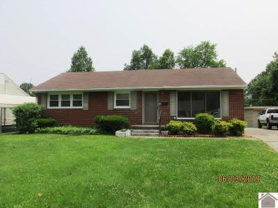 Paducah Single Family Home For Sale: 2214 Clay Street