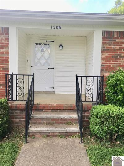 Murray Single Family Home For Sale: 1506 Belmont