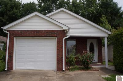 Murray Single Family Home For Sale: 504 Chantilly Drive