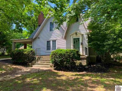 Calloway County Single Family Home For Sale: 500 S 6th