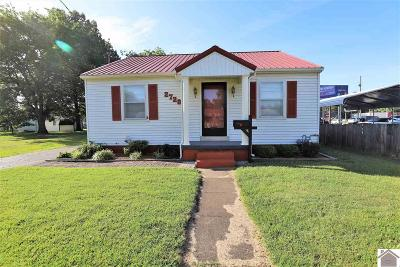 Paducah Single Family Home Contract Recd - See Rmrks: 2728 Adams Street