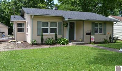Murray KY Single Family Home For Sale: $82,500